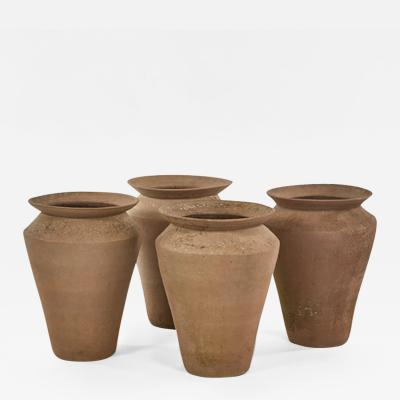 A Set of 4 Finchcliff Hand Thrown Pots