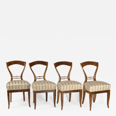 A Set of Biedermeier Chairs