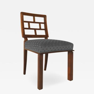 A Set of Eight German New Objectivity Dining Chairs