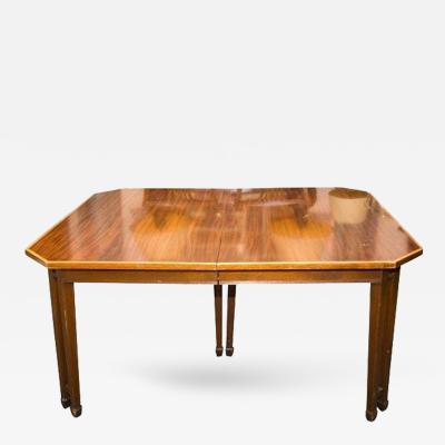 A Sheraton Style Table in Mahogany