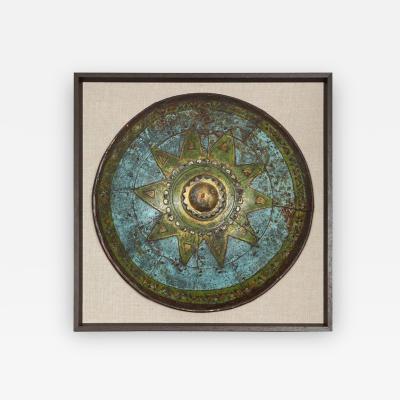 A Single Frames Decorative Shield from Pinewood Studios