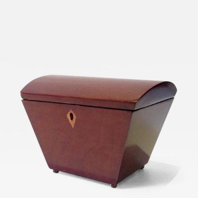A Small Tapered Tea Caddy Box