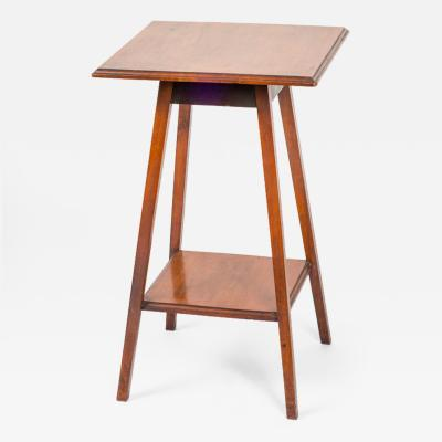 A Square Two Tier Side Table