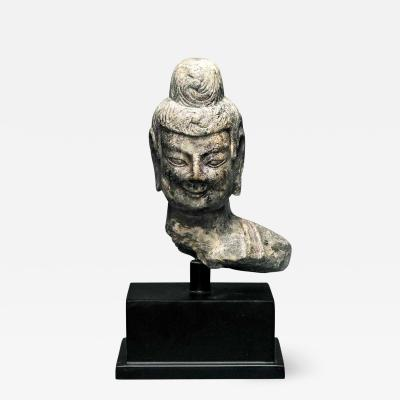 A Stone Buddha Statue Fragment from Northern Wei Dynasty China
