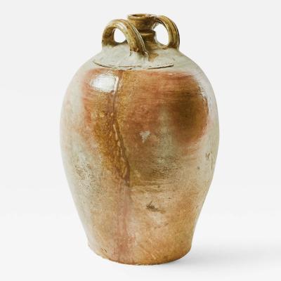 A Stoneware Pot