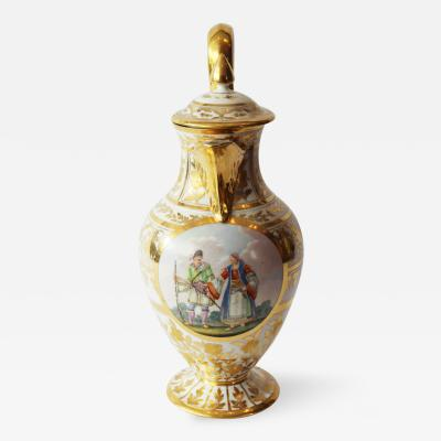 A Superb Naples Coffee Pot and Cover
