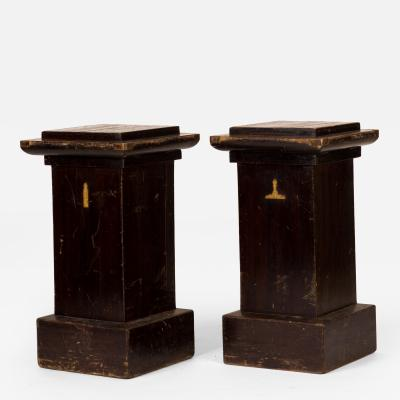 A Tall Masonic Plinth or Pedestal Stand