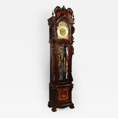 A Three Train Musical Longcase Clock