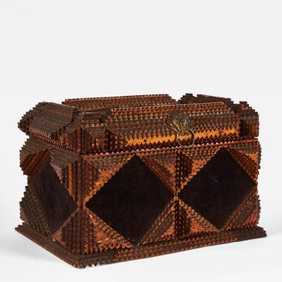 A Tramp Art Box