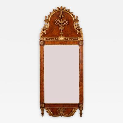 A Transitional Rococo Mirror Danish ca 1780