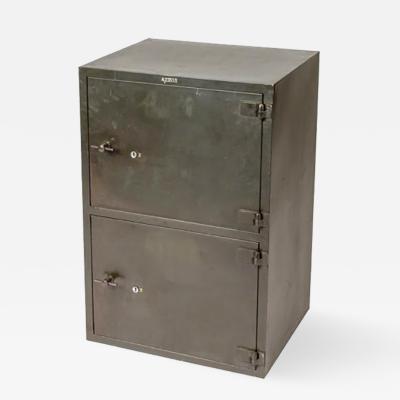 A Two Door Metal Cabinet