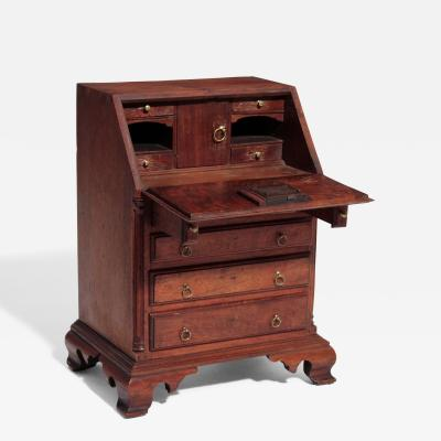 A Very Rare Important Miniature Desk