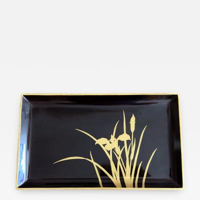 A Vintage Japanese Lacquer Tray