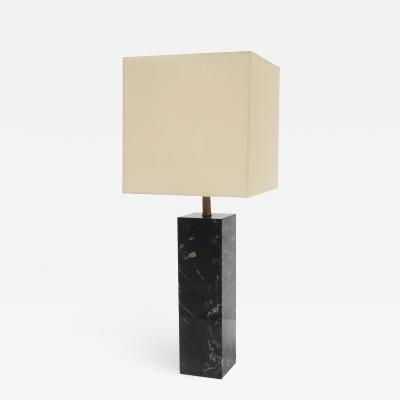 A Walter Van Nessin Marble Mid Century Table Lamp