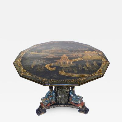 A Whimsical Victorian Center Table