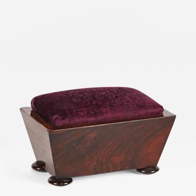 A Wooden Pin Cushion Box