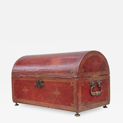 A carriage trunk France XVIIIth century