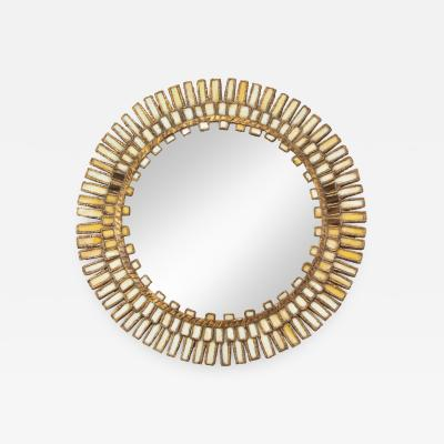A convex mirror in the manner of Line Vautrin