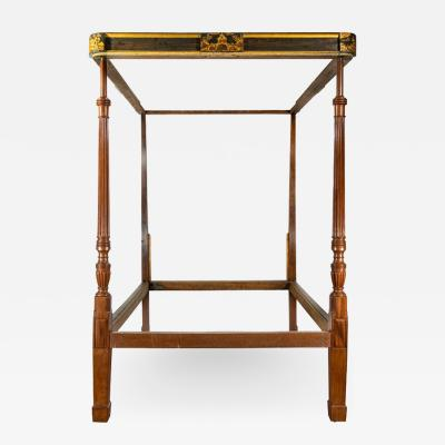 A fine George III Chinoiserie four poster bed firmly attributed to Gillows