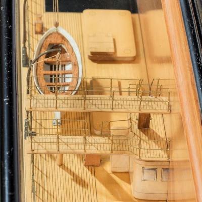A fine Shipyard half hull model of the NORTHERN LIGHT