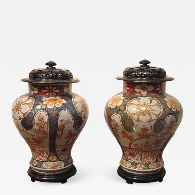 A fine pair of Ko Imari vessels