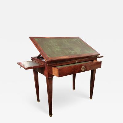 A mahogany work table France XIXth century