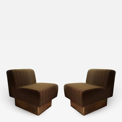 A pair of armchairs Italy 70