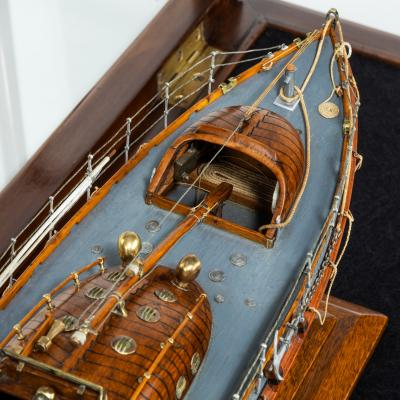 A scale model of a Watson class lifeboat circa 1931