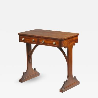 A small Regency writing table