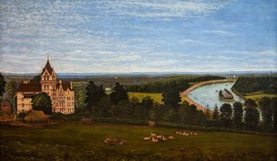 A view of Richmond looking towards Twickenham