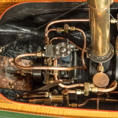 A working model of a steam launch Circa 1920