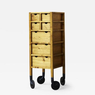 AKMD Collection Tall Rolling Dresser