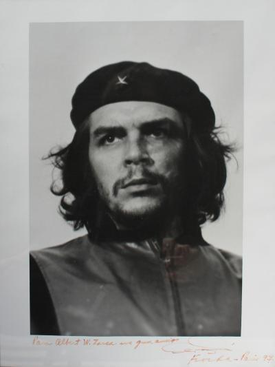 ALBERTO KORDA GUERRILLERO HEROICO ORIGINAL PHOTO OF CHE GUEVARA BY ALBERTO KORDA
