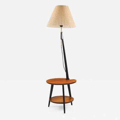 ANF Nybro Scandinavian Midcentury Floor Lamp Lamp Table by ANF Nybro Sweden