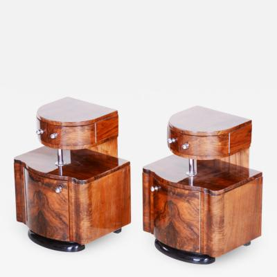 ART DECO BED SIDE TABLES