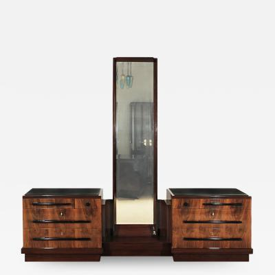 ART DECO DOUBLE CHEST OF DRAWERS 1930