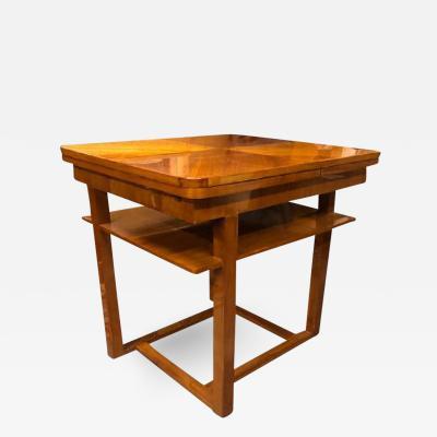 ART DECO FOLDING TABLE