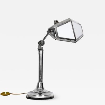ART DECO PIROUETTE DESK LAMP FRANCE 1930