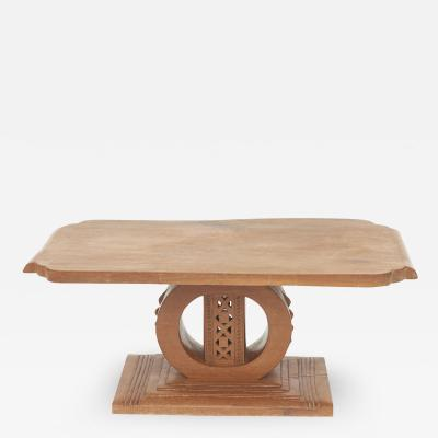 ASHANTI COFFEE TABLE OR END TABLE FROM GHANA