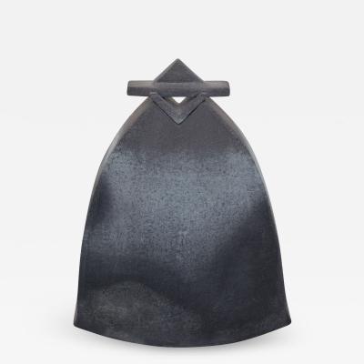 Aage Birck Man In Overcoat Vase in Stoneware