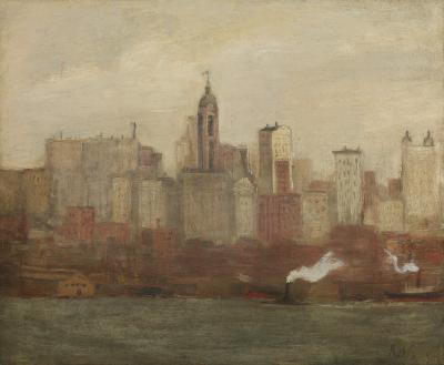 Aaron Harry Gorson New York City Skyline