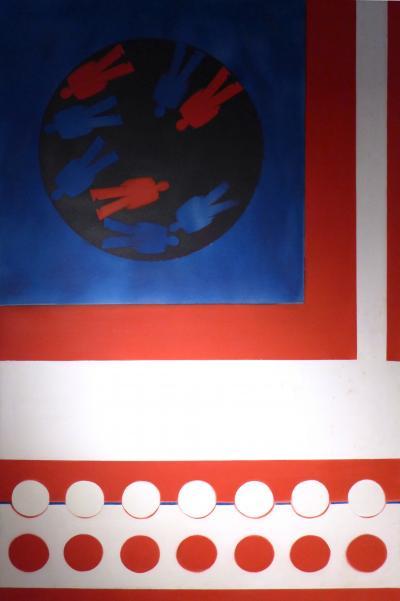 Aaronel deRoy Gruber Painting
