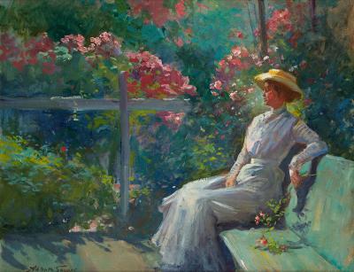 Abbott Fuller Graves In the Garden