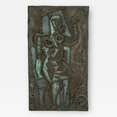 Abbott Pattison Abbott Pattison Bronze Wall Relief
