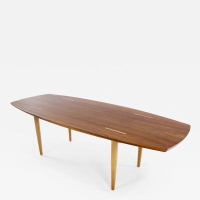 Abel Sorenson Scandinavian Modern Coffee Table Designed by Abel Sorensen for Knoll