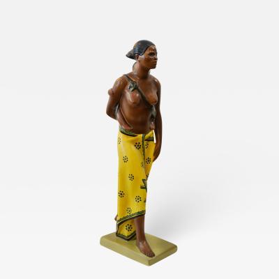 Abele Jacopi Abele Jacopi Ceramiche Lenci Abyssinian Mother 30s