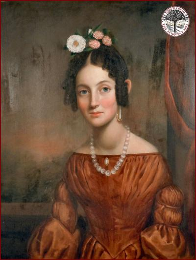 Abraham G D Tuthill Abraham Tuthill YOUNG LADY with PEARLS