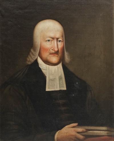 Abraham G D Tuthill Portrait of Dr John Henry Livingston 1746 1825