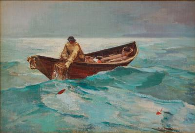 Abraham Jacob Bogdanove Lobster Fisherman