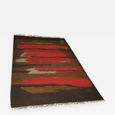 Abstract Modernist Carpet Tapestry